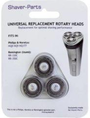 Für Philips HQ8, HQ9, HQ177 und Remington RR-330C, RR-350C Scheerkop Zwart 1 set