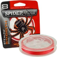 Spiderwire Stealth Smooth 8 - Code Red - 7.5kg - 0.09mm - 150m - Rood
