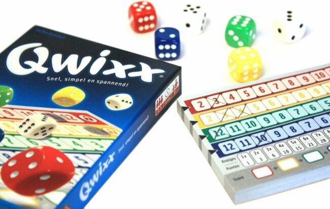 Afbeelding van White goblin Qwixx voordeelbundel - Qwixx + Qwixx 2 scorebloks + Qwixx Big Points