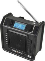 PerfectPro Soliddigital Baustellenradio mit DAB+, AUX-In und FM RDS