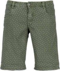 Blue Seven heren bermuda groen jogg jeans - maat M