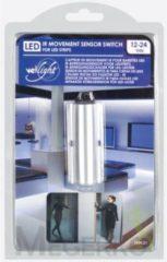 Zilveren Velleman Gekleurde led strip ir-bewegingssensor voor ledstrips