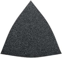 Fein 63717085045 Delta schuurpapier Met klittenband, Ongeperforeerd Korrelgrootte 120 Hoekmaat 80 mm 5 stuk(s)