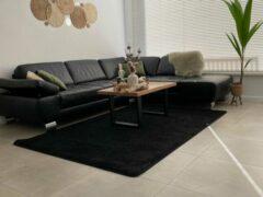 EB Commerce Vloerkleed Laagpolig - Zwart 170x230