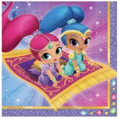 Roze Trademark 20 Shimmer & Shine™ servetten - Feestdecoratievoorwerp