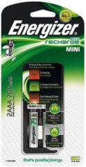 Energizer Mini Charger CH2PC4 Batterijlader NiMH Incl. oplaadbare batterijen AAA (potlood), AA (penlite)
