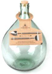 Esschert design Terrarium fles M 15L 30x30x44 cm mini ecosysteem