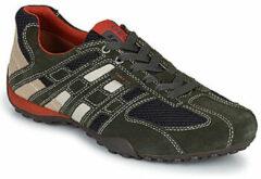 Grijze Sneakers U SNAKE K U4207K by Geox