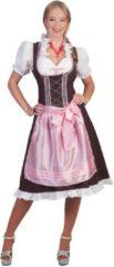 Bruine Funny Fashion Boeren Tirol & Oktoberfest Kostuum | Worgl Weissbier Dirndl | Vrouw | Maat 48-50 | Carnaval kostuum | Verkleedkleding