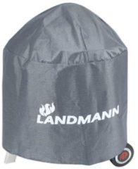 Grijze Landmann Barbecuehoes Premium rond 70 x 90 cm 15704