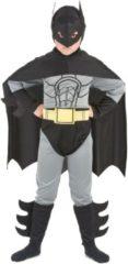 Zilveren LUCIDA - Superhelden vleermuis kostuum voor kinderen - L 128/140 (10-12 jaar) - Kinderkostuums