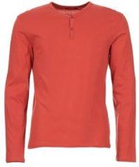 Rode T-Shirt Lange Mouw BOTD ETUNAMA