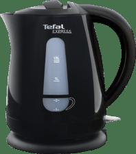 Tefal waterkoker, zwart, 1.5L, verm 2200W, snoerloos, waterniveau ind