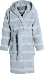 Blauwe Seahorse Menton badjas kinder blue 110/116