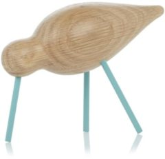 Lichtblauwe Normann Copenhagen Shorebird M - Kunst - sea blue