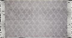 HSM Collection Vloerkleed - katoen - 210x150 cm - grijs