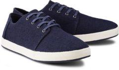 Canvas-Sneaker Payton von Toms in blau für Herren. Gr. 41,42,43,44
