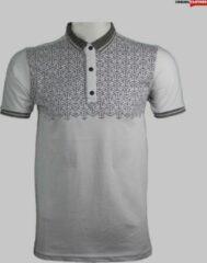 Witte Merkloos / Sans marque Merkloos Maccali Premium Heren Poloshirt XXL