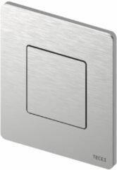 Roestvrijstalen Urinoir Bedieningsplaat TECE Solid 10,4x12,4 cm RVS Geborsteld inclusief Cartouche