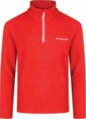 Dare 2b Freeze Jam II Fleece Sporttrui - Maat 104 - Unisex - rood