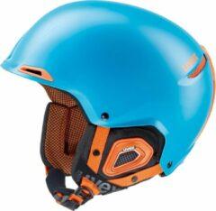 Uvex Skihelm - Unisex - blauw/oranje S: 52-55cm