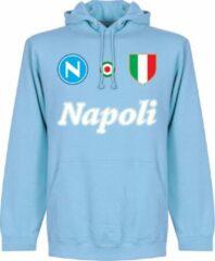 Retake Napoli Team Hoodie - Lichtblauw - XL