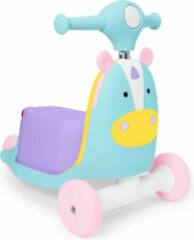 Paarse Skip Hop Zoo 3-In-1 Ride On Toy