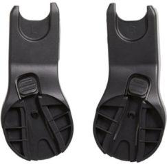 Zwarte Easywalker Charley autostoel adapter set