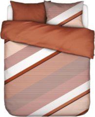 Essenza Home dekbedovertrek Robbin caramel - 1-persoons (140x200/220 cm incl. 1 sloop)