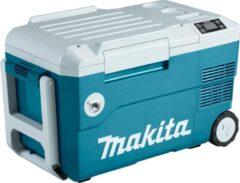 Blauwe Makita Vries- /koelbox met verwarmfunctie Zonder accu's en lader, in doos