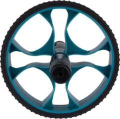 Avento Fitnesswiel Power Ab-roller 17 Cm Zwart/blauw