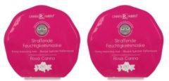 CHIARA AMBRA Vliesmaske Rosa Canina 25 ml, 2er-Set