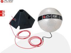 Pure2Improve P2I150070 Voetbaltrainer-Unisex-Maat--Zwart