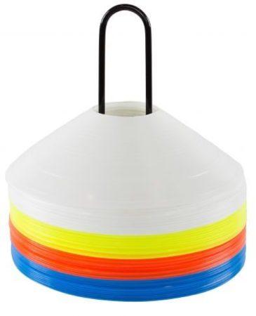 Afbeelding van Stanno Disc Cone Set Tennistrainer - Multi Kleuren - Maat One Size