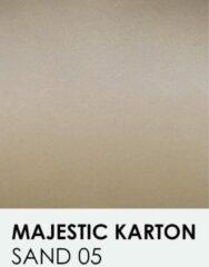 Zandkleurige Karton met glinster notrakkarton Majestic sand 05 30,5x30,5 cm 250 gr.