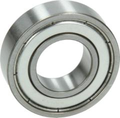 Universeel Kugellager 6003 ZZ NTN/SNR (17 x 35 x 10 mm, staubdicht, beidseitig mit Metallabdeckscheibe) für Waschmaschinen 6003ZZ