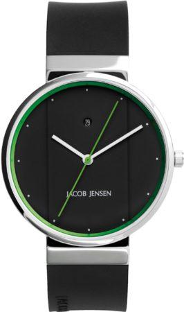 Afbeelding van Zilveren Jacob Jensen watches herenhorloge New 777