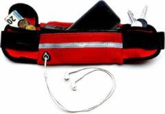 Now4you Running belt - Hardloop belt - Hardloop riem - Rood
