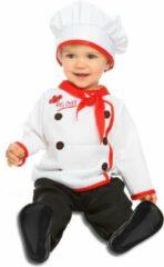 VIVING COSTUMES / JUINSA - Kleine kok kostuum voor baby's - 7 - 12 maanden - Kinderkostuums