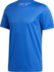 Blauwe Adidas Trainings T-shirt met HEAT.RDY