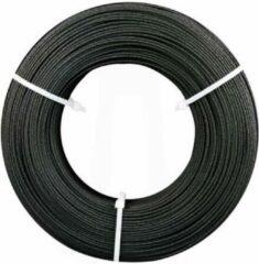 Antraciet-grijze Fiberlogy Refill Easy PLA Vertigo (antraciet glitter)