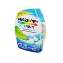 Multicentrum Vitamints 50 caramelle gusto cool mint