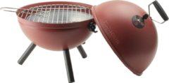 Gusta® Gusta kogelbarbecue - BBQ Ball ø30,5cm rood