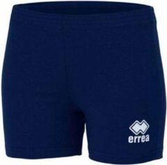 Marineblauwe Errea damesshort VOLLEY navy L