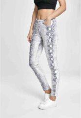 Urban Classics Skinny jeans -Taille, 26 inch- Animal Stretch Twill Wit