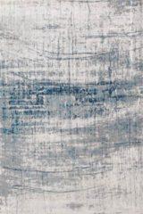 Louis de Poortere Laagpolig vloerkleed Louis de Poortere 8421 Mad Men Bronx Azurite 170x240 cm