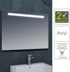 Boss & Wessing BWS LED Spiegel Tigris met Lichtschakelaar 100x80x3.1 cm (incl bevestigingsmateriaal)
