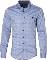 Casa Moda Overhemd - Modern Fit - Blauw - 3XL Grote Maten