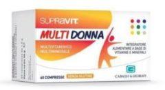 SUPRAVIT MULTI DONNA 60 compresse 60CPR Integratore alimentare a base di vitamine e minerali CODEFAR