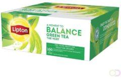 Thee Lipton Balance groen tea 100stuks